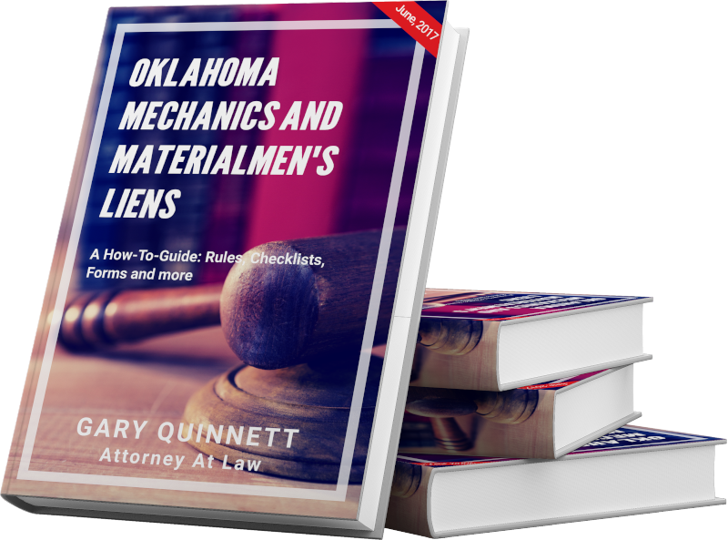 Oklahoma Mechanics and Materialmen's Lien